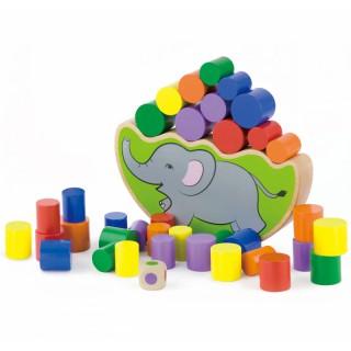 Medinis balansinis drambliukas | Viga