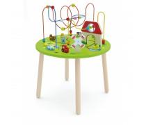 Medinis edukacinis staliukas su labirintu | Ferma | Viga 50670