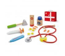 Medinis gydytojo rinkinys lagamine | Viga Toys