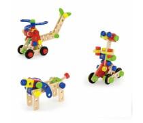Medinis konstruktorius 68 vnt | Viga Toys