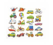 Medinis magnetukų komplektas | Transporto priemonės | Viga 58924
