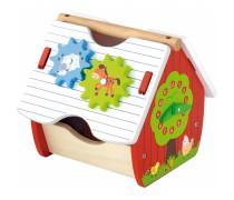 Vaikiškas medinis namelis-rūšiuoklis | Viga 50533