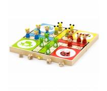 Medinis stalo žaidimas | Ludo | Viga Toys