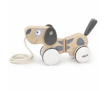 Medinis traukiamas šuniukas | Viga 51614
