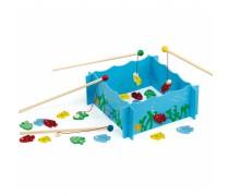 Medinis žaidimas | Gaudome žuvį | Viga Toys
