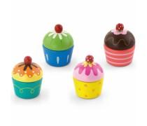 Mediniai pjaustomi keksiukai 4 vnt | Viga Toys