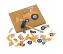 Prikalamos medinės statybinės mašinos | 45 detalės | Viga