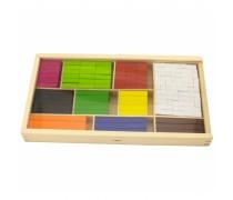 Mediniai skaičiavimo pagaliukai dėžutėje 308 vnt | Viga Toys
