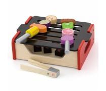Vaikiška medinė kepsninė-grilis BBQ | Viga 50982