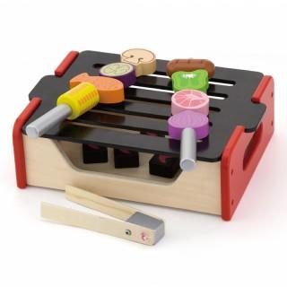 Vaikiška medinė kepsninė-grilis BBQ | 50982 | Viga