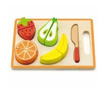 Vaikiški mediniai pjaustomi vaisiai | Viga 50978