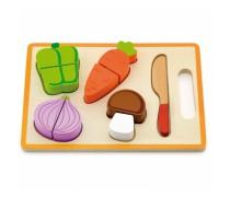 Vaikiškos medinės pjaustomos daržovės | Viga 50979