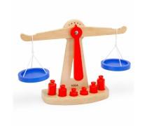 Žaislinės medinės svarstyklės | 50660 | Viga