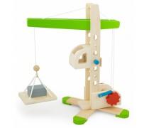 Žaislinis medinis statybinis kranas | 2018 | Viga