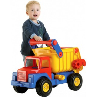Didžiulis žaislinis savivartis sunkvežimis | 74 cm | Wader