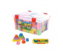 Kaladėlių rinkinys dėžėje 174 vnt | Wader 50557