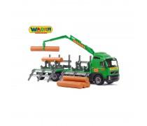 Žaislinis miškavežis 75 cm | Volvo | Wader 8725