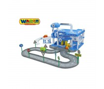 Žaislinis 3 aukštų automobilių stovėjimo garažas | ARAL | Wader 40428