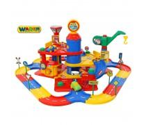 Žaislinis 3 aukštų automobilių stovėjimo garažas | Wader