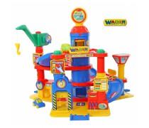 Žaislinis 4 aukštų automobilių stovėjimo garažas | Grand Tor | Wader 37855