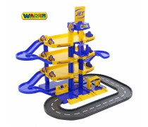 Žaislinis 4 aukštų automobilių stovėjimo garažas | JET | Wader