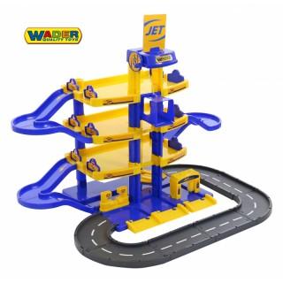 Žaislinis 4 aukštų automobilių stovėjimo garažas | JET | Wader 40220