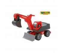 Žaislinis buldozeris-ekskavatorius | QT MAMMOET | Wader 56740