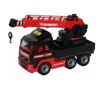 Žaislinis sunkvežimis kranas 52 cm | Wader
