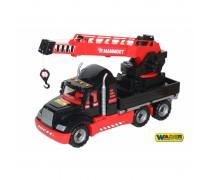 Žaislinis sunkvežimis kranas 82 cm | Wader