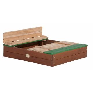 Medinė smėlio dėžė su dangčiu | Ella Sandpit | Axi A030.414.00