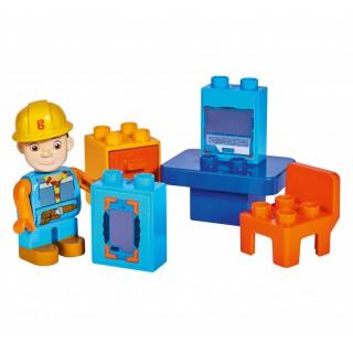 Kaladėlių rinkinys 10 vnt | Bob Builder | Big