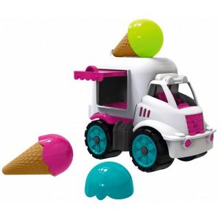 Ledų parduotuvė - mašina su smėlio formelėmis | Power Worker | Big