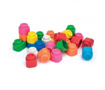 Minkštos, kvepiančios kaladėlės 24 vnt | Soft Blocks | Clementoni 14889