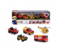 5 metalinių transporto priemonių rinkinys | Fireman Sam | Dickie 3094002