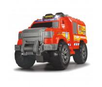 Gaisrininkų gelbėtojų automobilis 33 cm su šviesos ir garso efektais | Fire Rescue | Dickie 3304010