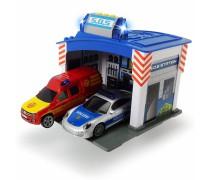 Gelbėjimo stotis su 2 automobiliais | SOS Station | Dickie 3713003
