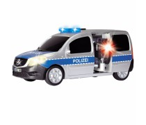 Policijos automobilis 20 cm su greičio matuokliu, šviesos ir garso efektais | Mercedes Benz | Dickie 3713002
