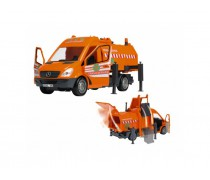 Šiukšliavežė 35 cm | City Service | Dickie 3415410 S