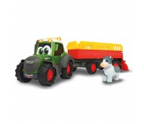 Traktorius 30 cm su priekaba ir šviesomis | Happy Fendt Tractorr | Dickie 3815004