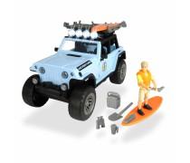 Visureigis su banglentėmis ir priedais 19 vnt | Surfer Set | Dickie 3834001