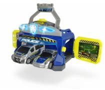 Žaislinė policijos nuovada su 2 automobiliais | Dickie 3715010