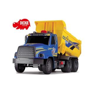 Didelis žaislinis 59 cm savivartis su pakeliamu kėbulu | Air Pump Dump Truck | Dickie 3809012