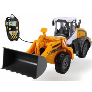 Žaislinis buldozeris 40 cm su nuotolinio valdymo pultu | LIEBHERR | Dickie 3728001