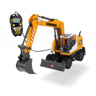 Žaislinis buldozeris 53 cm su nuotolinio valdymo pultu | LIEBHERR | Dickie 3728000