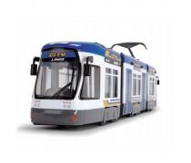 Žaislinis mėlynas miesto tramvajus 46 cm | City Liner | Dickie 3749017