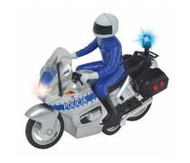 Žaislinis policijos motociklas su šviesos ir garso efektais | Dickie