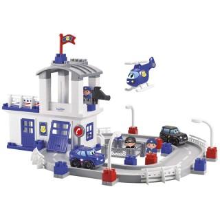 Didelis kaladėlių rinkinys su mašinėlėmis – policijos nuovada | Ecoiffier 3025