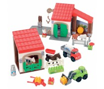 Konstruktorius ferma su gyvūnais | Abrick | Ecoiffier 3044