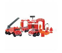 Kaladėlių rinkinys – gaisrinės stotis | Ecoiffier