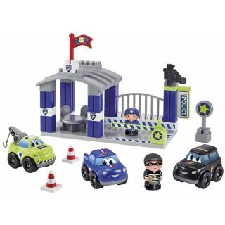 Kaladėlių rinkinys su mašinėlėmis – policijos nuovada | Ecoiffier 3015EC
